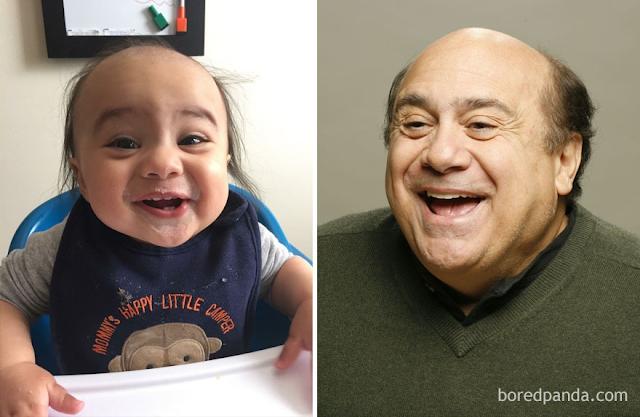 40 μωράκια που μοιάζουν πολύ με διάσημους ανθρώπους