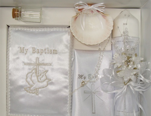 Detalles Todo Party Baptism Candle Sets