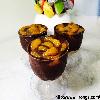 Chocolate Mousse with mandarin oranges