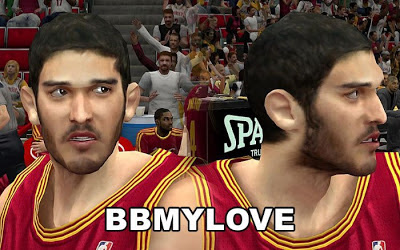 NBA 2K13 Omri Casspi Cyberface Patch