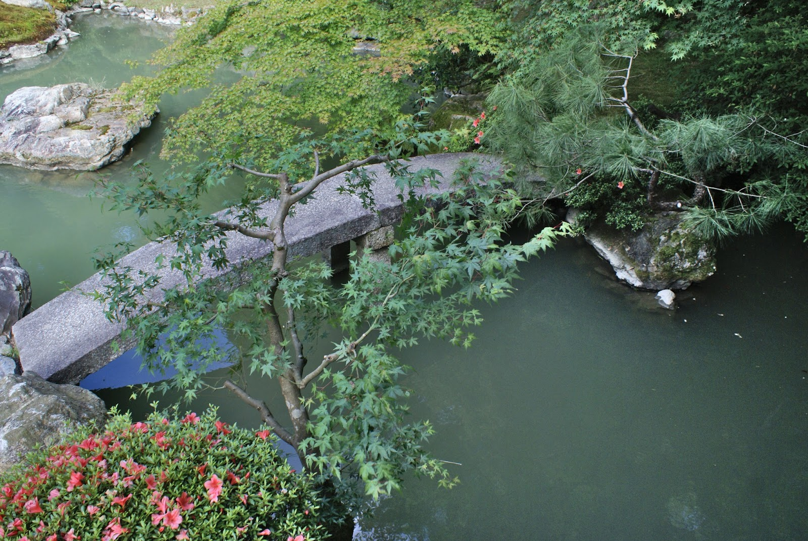kyoto japan higashiyama shoren-in garden