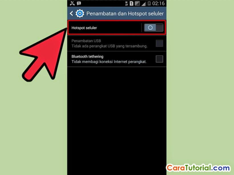 Cara Mengaktifkan Setting Wi Fi Hotspot Di Android