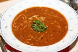 Cách chế biến món súp dạ dày bò nổi tiếng của Cộng Hòa Séc .