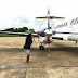 Photos: Valentine came early! Zambian man reportedly buys wife a Private Jet worth $14M