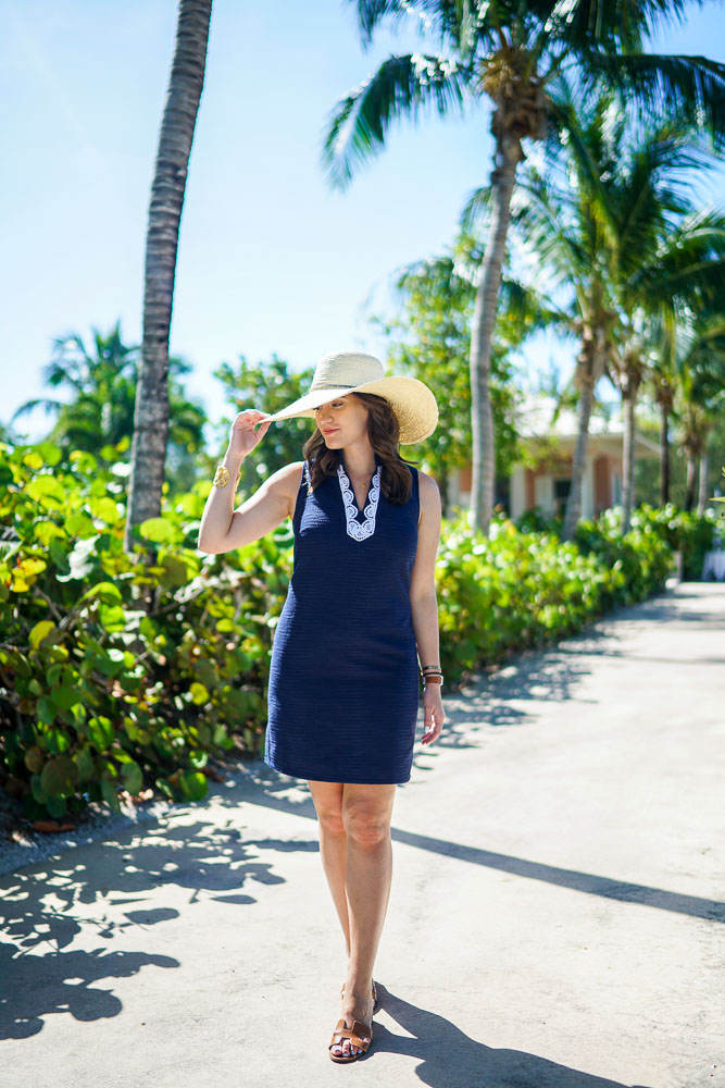 Krista Robertson, Exuma, Sandals Emerald Bay Great Exuma, Travel Blog, NYC Blog, Preppy Blog, Style, Fashion, Fashion Blog, Weekend Getaways, Weekend Trips, Tropical, Sail to Sable, Navy Dresses, Summer Dresses, Summer Must Haves