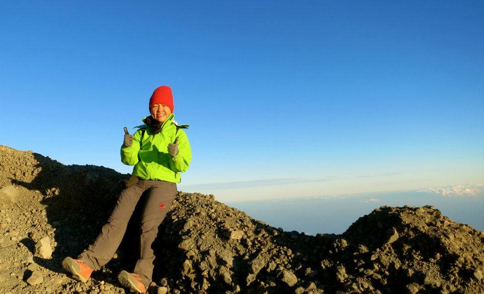 Plawangan Puncak 3000 meter Gunung Rinjani