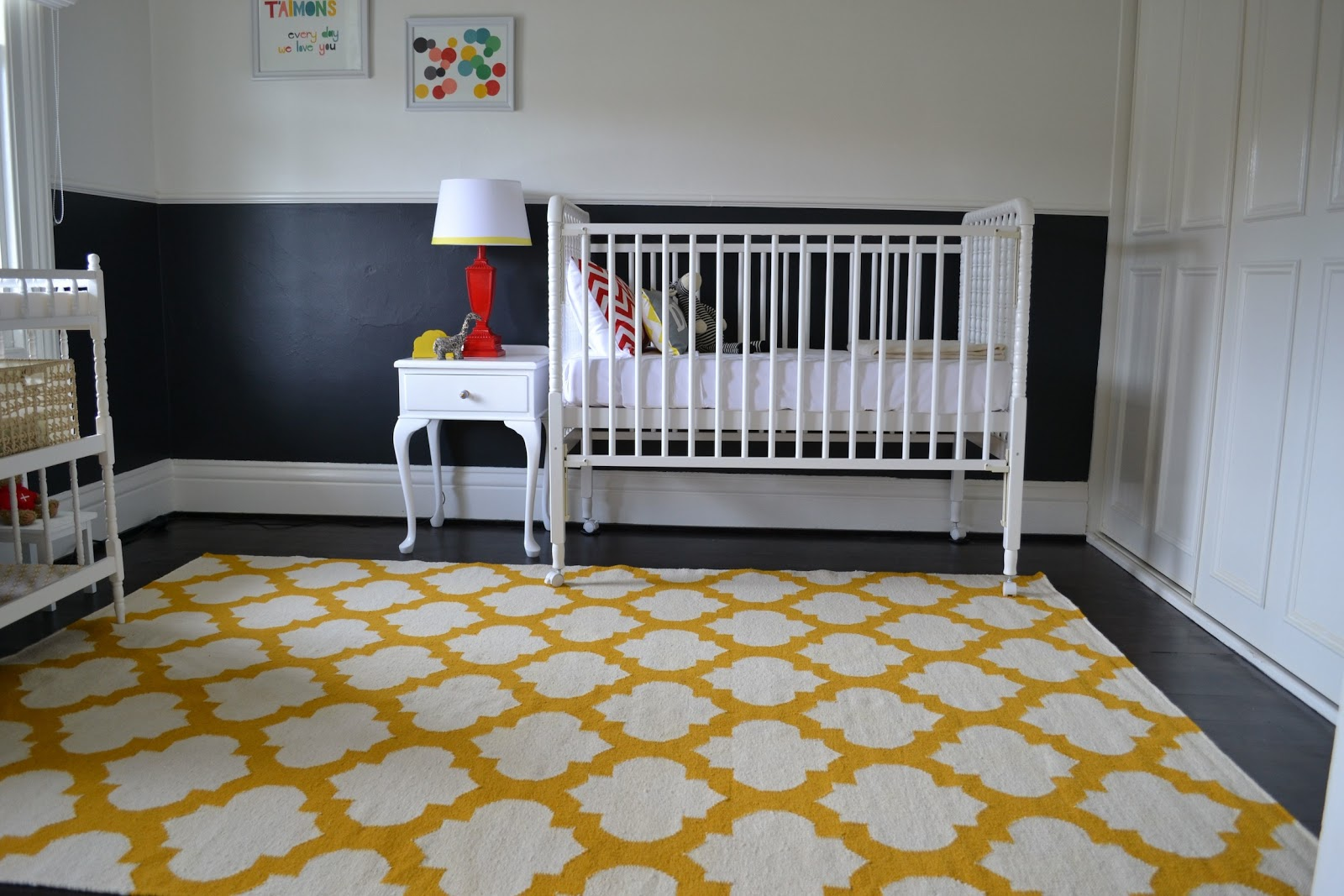 Charles Whyte A Rug To Warm The Baby S Room