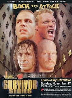 WWF / WWE SURVIVOR SERIES 1996: event poster