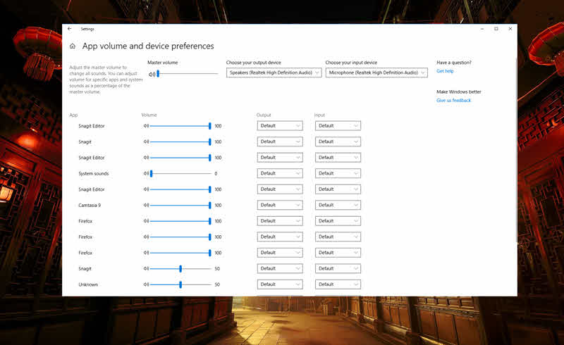 Customize your audio experience in Windows 10 to best fit your needs and preferences