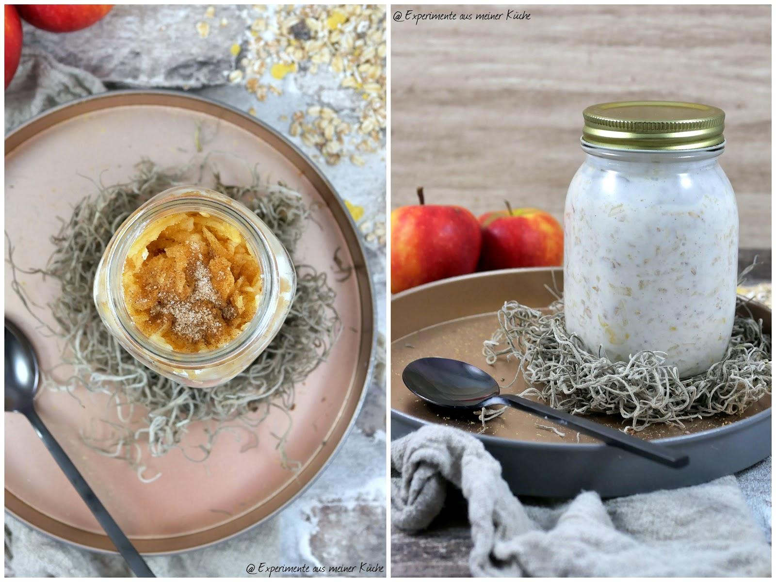 Experimente aus meiner Küche: Leichtes Bircher Müsli