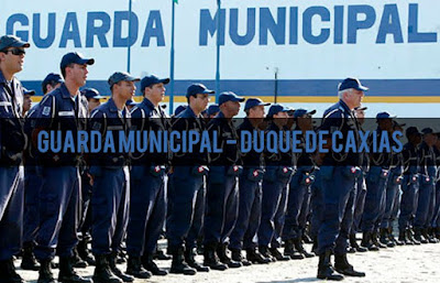 Guarda Municipal de Duque de Caxias Concurso edital noticias