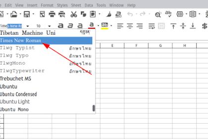 Cara Mudah Install Font Times New Roman Lengkap di OS Linux