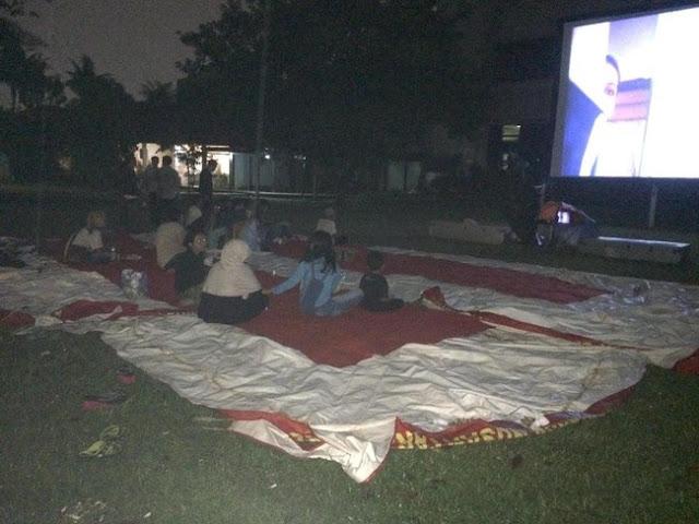 Sepi Penonton, Beginilah Penampakan Acara Nobar Film G30s/PKI Di Kantor DPP Gerindra