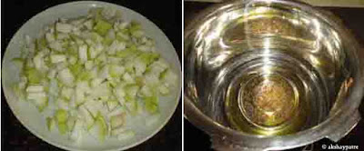 tempering with mustard seeds, jeera and hing