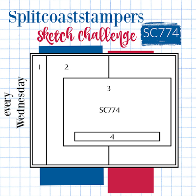 Splitcoaststampers Sketch Challenge 774