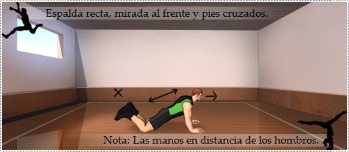 Como hacer flexiones de brazos
