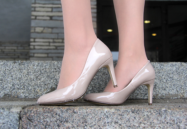 Next nude shoes