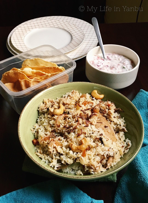 Thalassery Chicken Dum Biryani