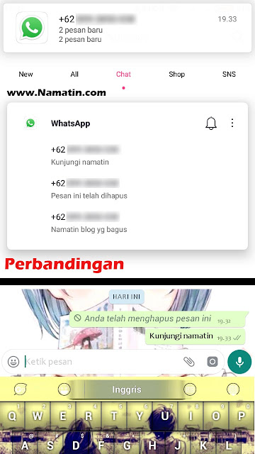 cara membaca deleted message whatsapp