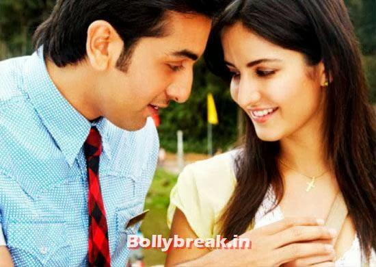 Ranbir Kapoor and Katrina Kaif in Ajab Prem Ki Gazab Kahani, Bollywood Actresses Lip Surgery Pics - Before & After