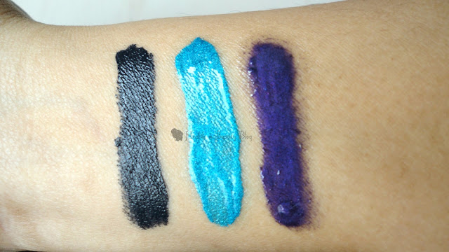 elf cream eyeliners swatches review