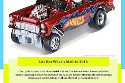 List Hot Wheels Mail In 2018
