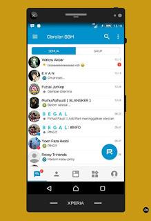 BBM MOD Official Versi Terbaru v3.3.2.30 APK Full DP, No ADS, Sangat Ringan