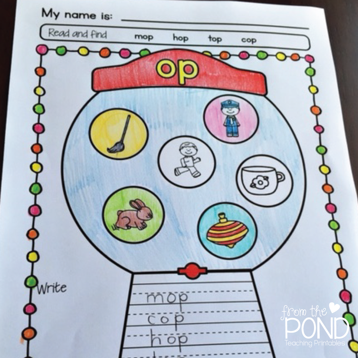 Cvc Worksheets For Kindergarten Wonderful Image