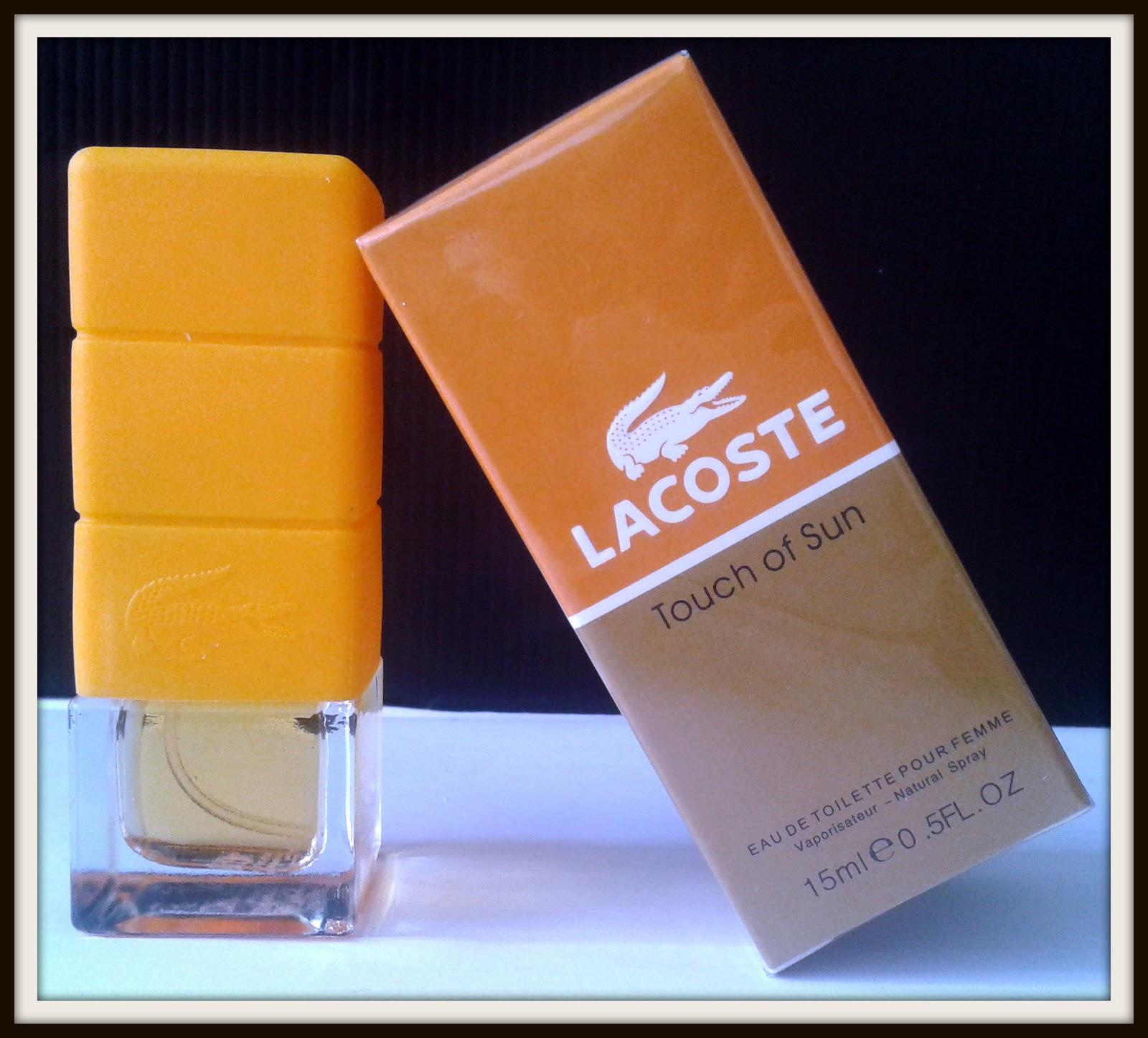 924854a8f75f ~~Miniature Touch Of Sun By Lacoste~~ ~~Women~~ ~~EDT~~ ~~Fragrance Spray~~  ~~0.17 fl oz 15 ml~~ ~~Brand New in Box