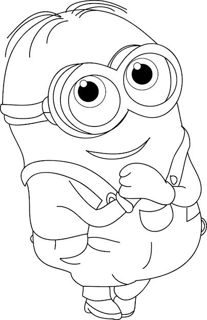 Coloring Pictures Of Cute Animals Minion  Google Search More