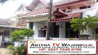 Jual ANTENA TV WAJANBOLIC  Jatibening Bekasi