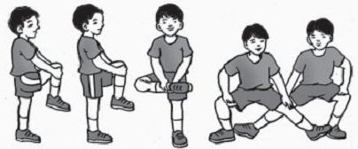 Latihan Kelentukan Sendi Lutut : Kebugaran Jasmani