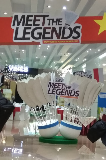 "Menyambut Asean Games ke-18 Green Pramuka City Gelar ""Meet The Legend"""