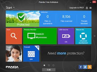 تنزيل برنامج حماية الكمبيوتر من الفيروسات Panda Cloud Antivirus
