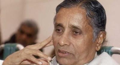 मध्य प्रदेश के पूर्व मुख्यमंत्री सुंदर लाल पटवा का दिल का दौरा पड़ने से निधन