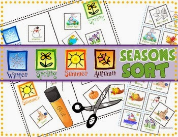 http://www.teacherspayteachers.com/Product/Seasons-Sort-Science-Centers-966398