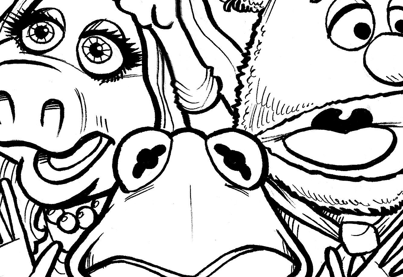 DURKINWORKS: Next Muppets Project: Sneak Peek