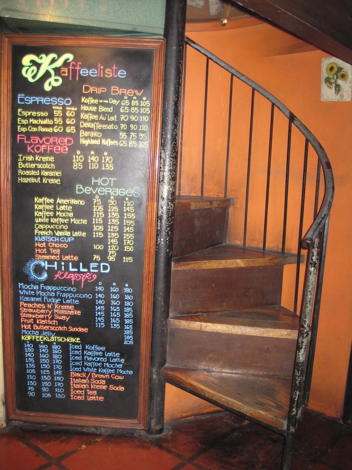 Food Quest Kaffeeklatsch Baguio City Jovial Wanderer