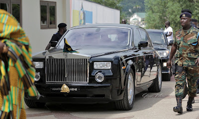 Otumfour osei Tutu II official vehicle-yawpreko blog