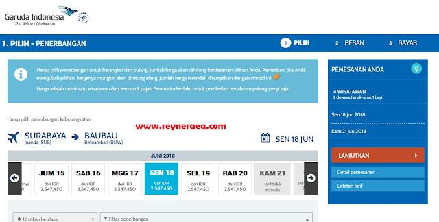 tiket murah surabaya - baubau