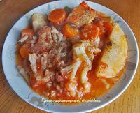 Κουνουπίδι γιαχνί με σάλτσα ντελμπιέ (αλευρολέμονο) - by https://syntages-faghtwn.blogspot.gr