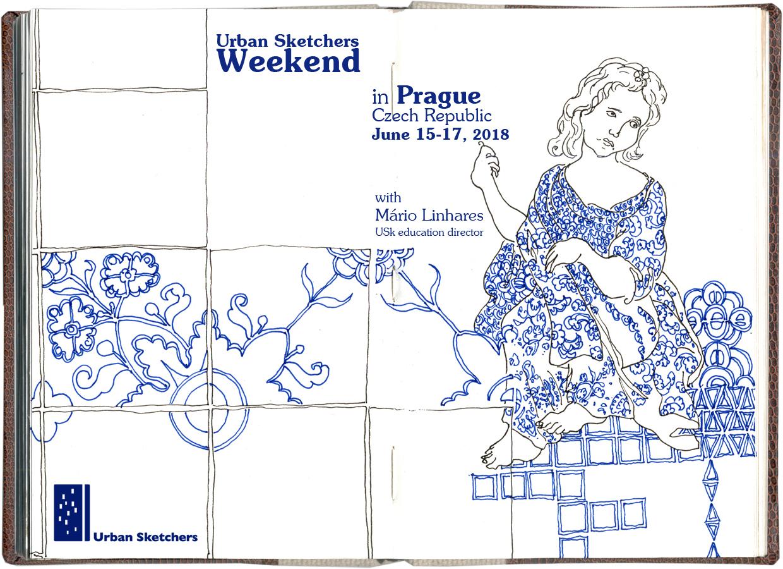 USk Weekend in Prague: educational event | Urban Sketchers