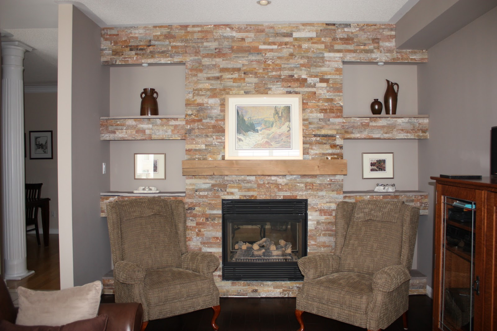 WHAT'S NEW OVER THE HILL?: Cultured Stone around the