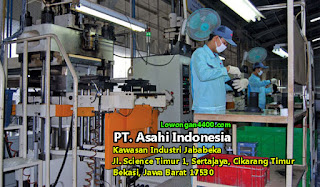 Lowongan Kerja PT. Asahi Indonesia Jababeka Cikarang