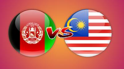 Live Streaming Afghanistan vs Malaysia Piala AIRMARINE 23.3.2019