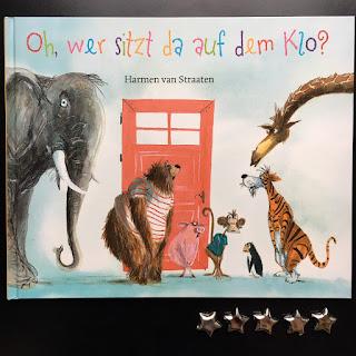 Bilderbuch Oh wer sitzt da auf dem Klo? Harmen van Stramen Verlag Freies Geistesleben