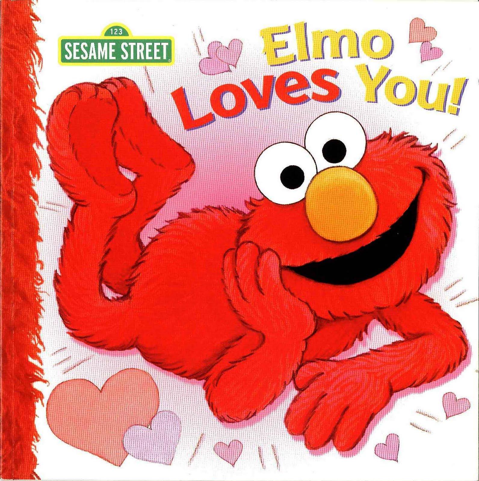 Elmo's World: Love! (Sesame Street) (Board Book)
