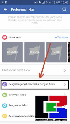 cara agar iklan bersponsor di aplikasi facebook hp hilang tidak terlihat