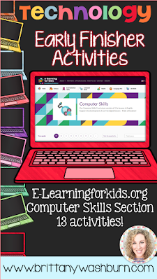 10 Great Activities for Early Finishers in Technology  My students work at vastly different paces so it is always a challenge to decide what the early finishers should do. Here is a list of 10 great activities for your early finishers that aren't just time wasters but will actually work to build their technology skills.