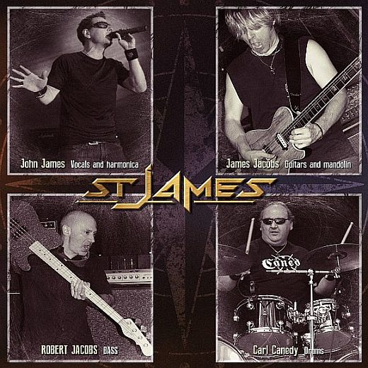 ST. JAMES - Resurgence (2017) back
